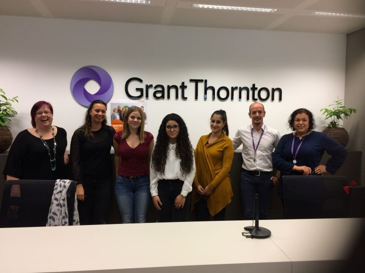 Photo du stage chez Grant Thornton Luxembourg